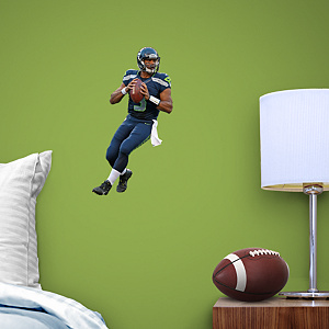 Russell Wilson Fathead Teammate Wall Decal